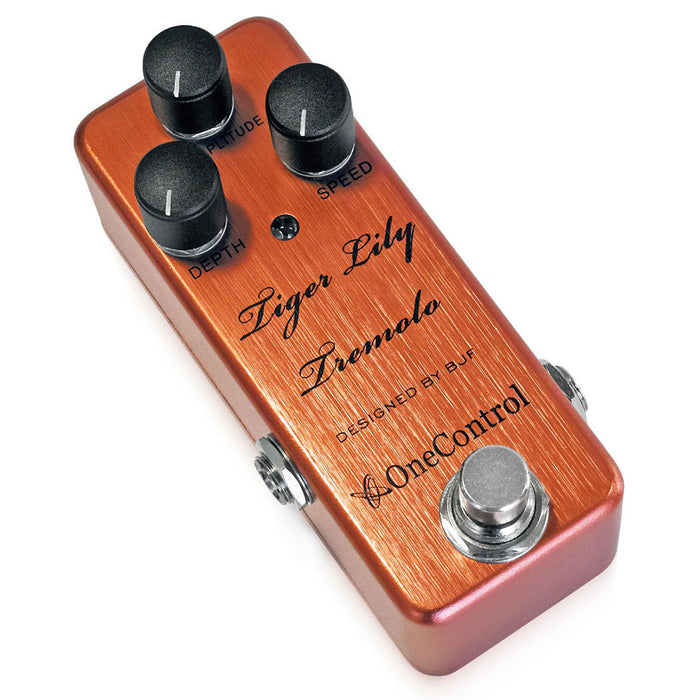 One Control Tiger Lily Tremolo Designed By BJF