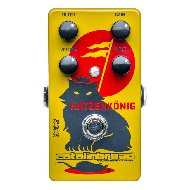 Catalinbread Katzenkönig Overdrive Distortion Pedal