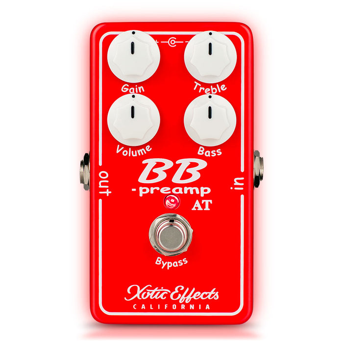 Xotic Effects BB Preamp 2017 Andy Timmons Edition Overdrive Pedal