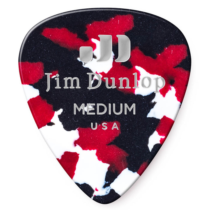 Dunlop Confetti Medium Celluloid Guitar Picks - 72 Pack (483R06MD)