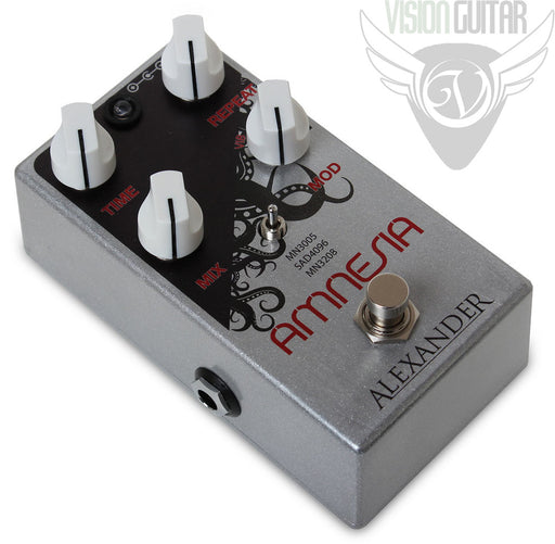 Alexander Pedals Amnesia Delay - 3 Distinct Analog Voicings