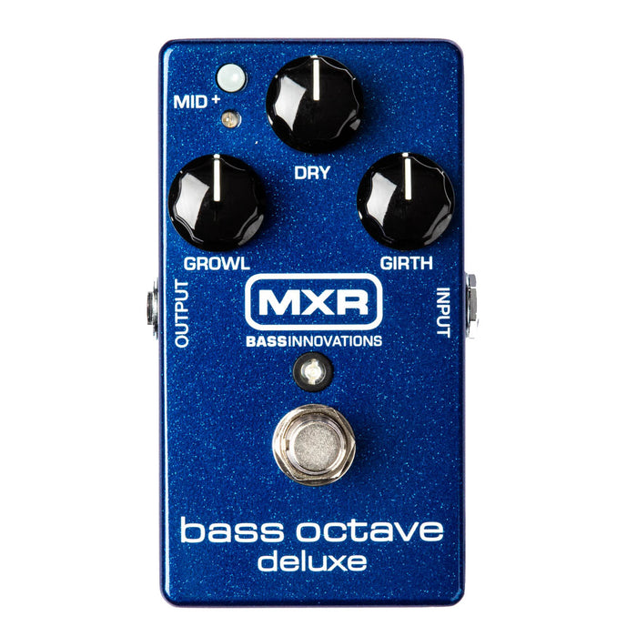 MXR M288 Bass Octave Deluxe 2 Independent Voices