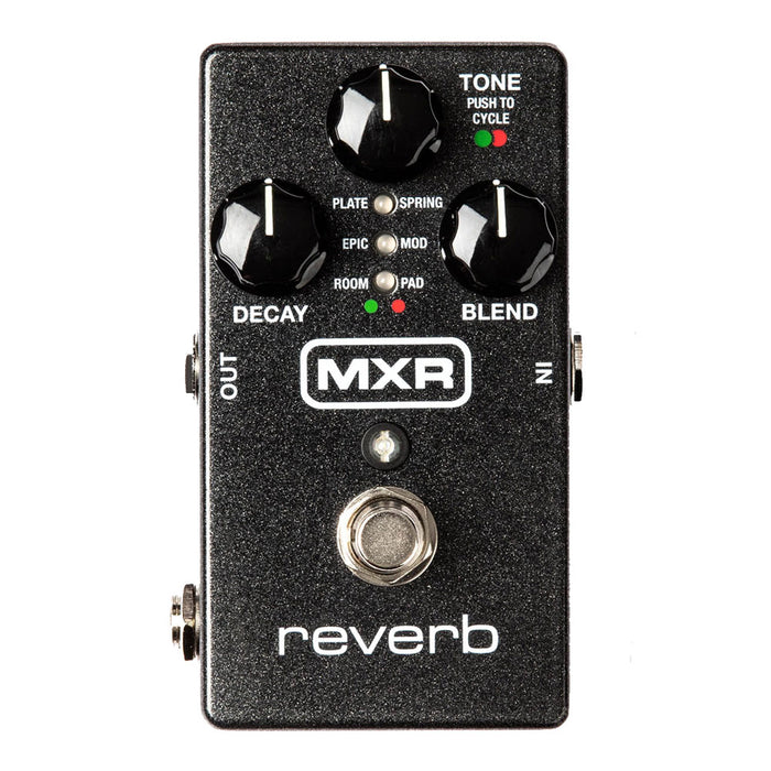 MXR M300 Reverb Six Meticulously Crafted Reverbs