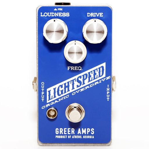 Greer Amps Lightspeed Organic Natural Overdrive