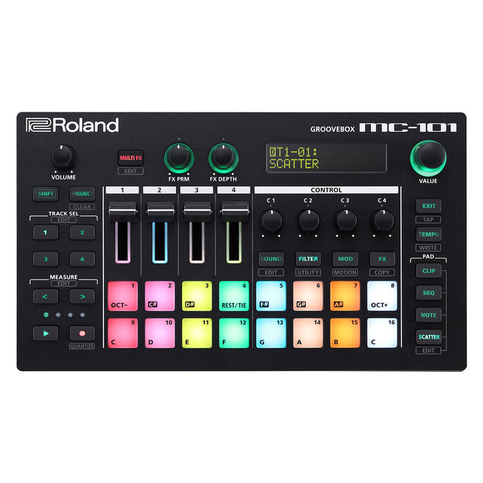 Roland MC-101 Groovebox Professional Production Tool