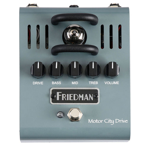 Friedman Motor City Drive 12AX7 Tube Powered Overdrive Pedal