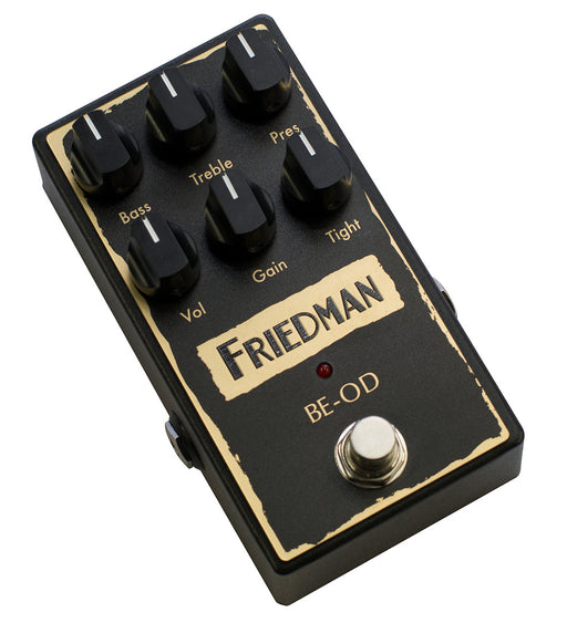 Friedman Amps BE-OD Overdrive Authentic British Overdrive Tones