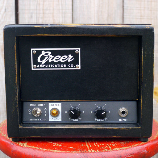Greer Amp Mini Chief 3w Amplifier Head
