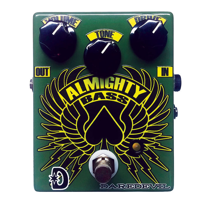 Daredevil Pedals Almighty Bass Fuzz Pedal