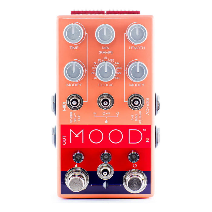 Chase Bliss Mood 2-Channel Granular Micro-Looper Delay
