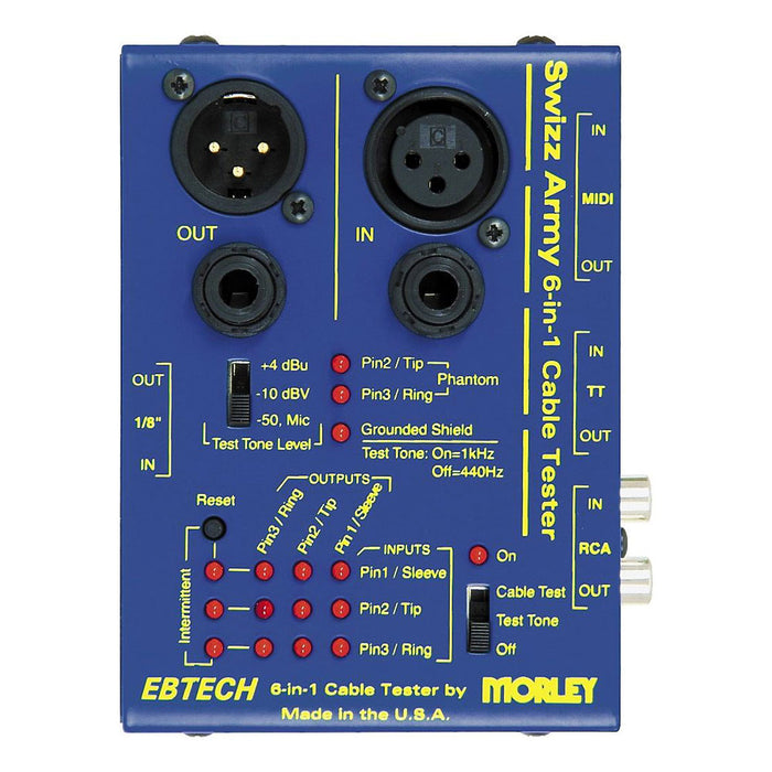 Ebtech Morley 6-in-1 Cable Tester