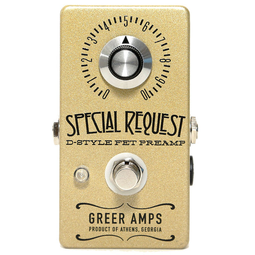 Greer Amps Special Request D-Style FET Preamp Overdrive