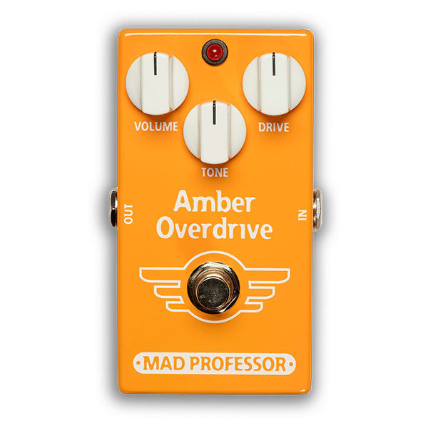 Mad Professor BJF Design Amber Overdrive/Fuzz Pedal