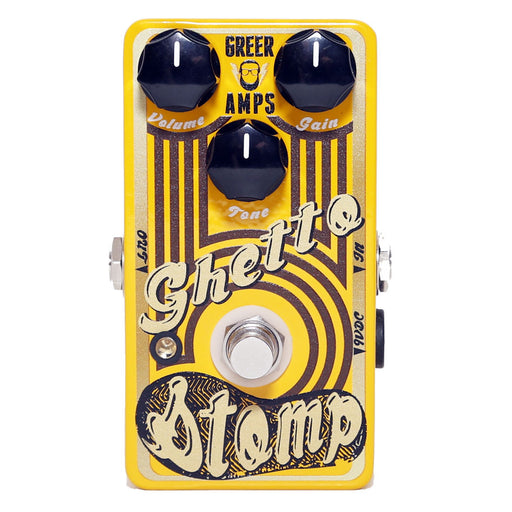 Greer Amps Limited Edition Yellow Ghetto Stomp - BC107B