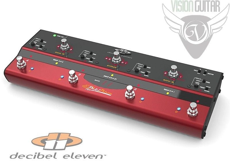 Decibel Eleven Pedal Palette - 4 Pedal Effects Loops - True Relay Bypass