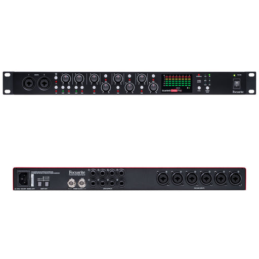 Focusrite Scarlett Octopre Eight-Channel Mic Preamp With ADAT Connectivity