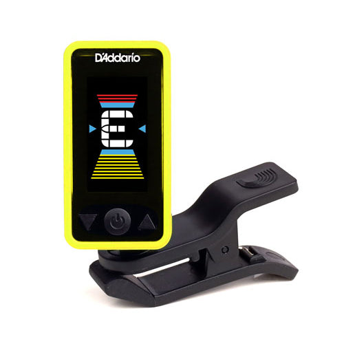 Planet Waves Eclipse Headstock Tuner Yellow PW-CT-17YL