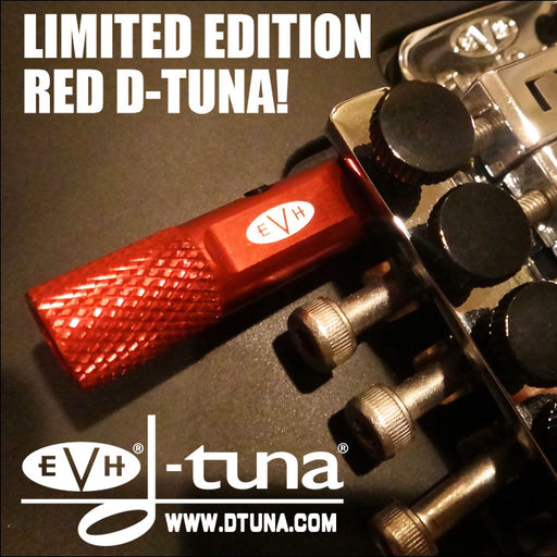Genuine EVH D-Tuna Drop D Tuning System - Limited Edition Red