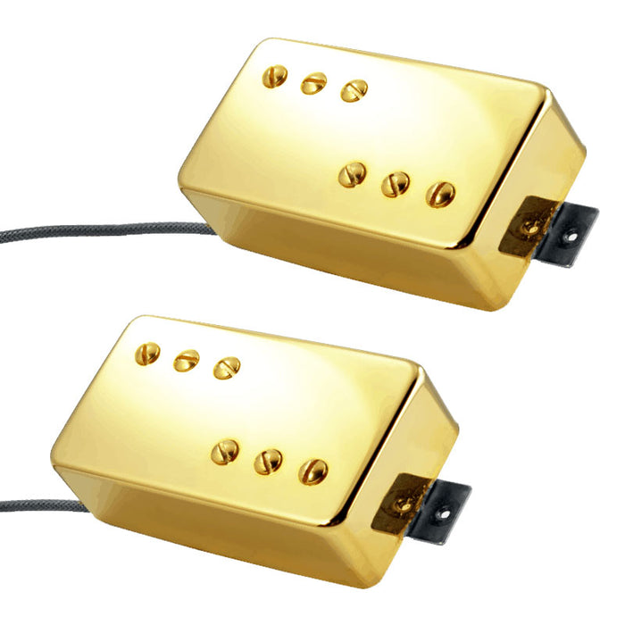 Lindy Fralin P-92 Pickup Set 8000/9200 Turns Gold Covers