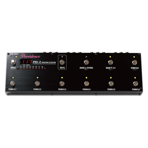 Providence PEC-2 Programmable Effects Controller - Premium Switching System