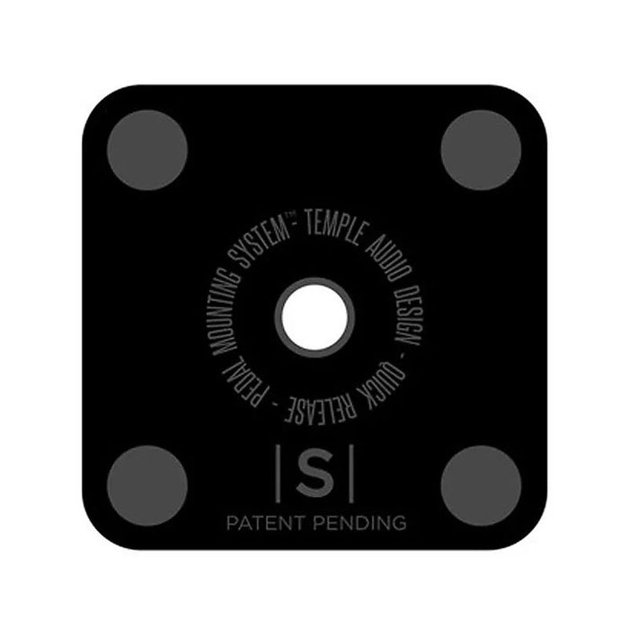 "Temple Audio Design Small Pedal Plate (1.3"" x 1.3"")"