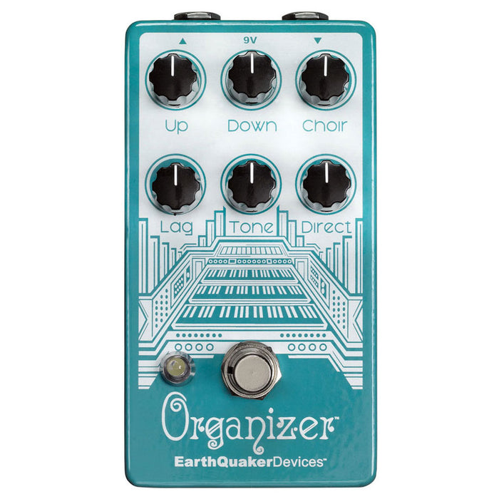 Earthquaker Devices Organizer V2 Polyphonic Organ Emulator Pedal