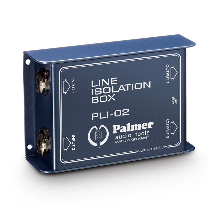 Palmer Audio Tools PLI-02 Line Isolation Box 2-Channel