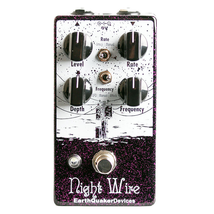 Earthquaker Devices Night Wire V2 Dynamic Harmonic Tremolo Pedal