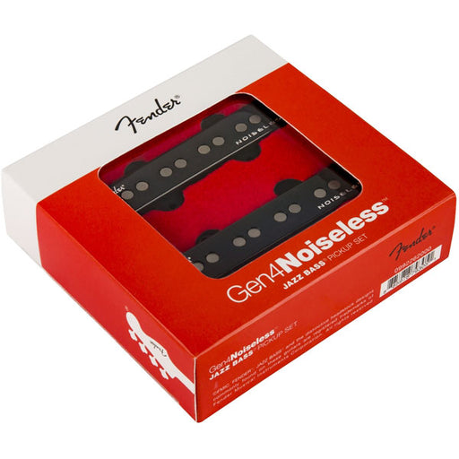Genuine Fender Gen 4 Noiseless™ Jazz Bass Pickup Set 0992262000