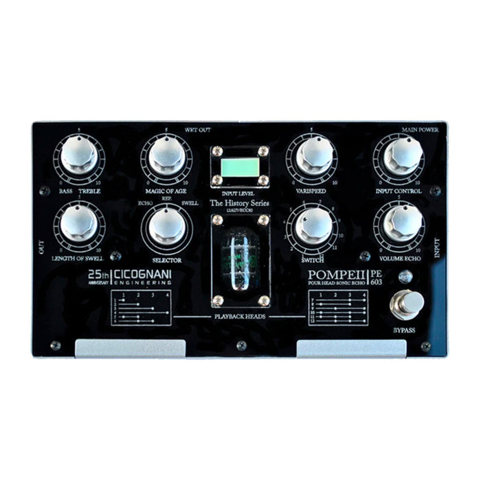 Cicognani Engineering Pompeii PE603 4-Head Echorec Delay
