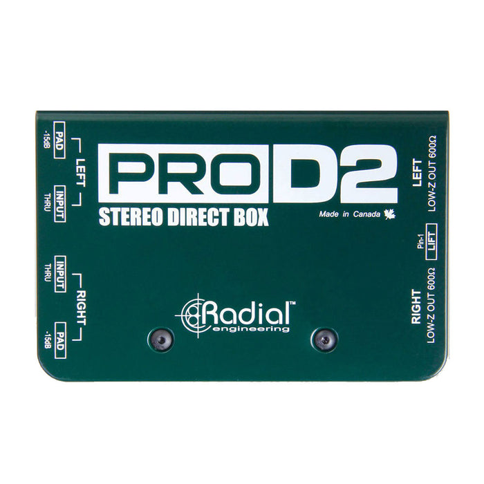 Radial Engineering  ProD2™ Stereo Direct Box