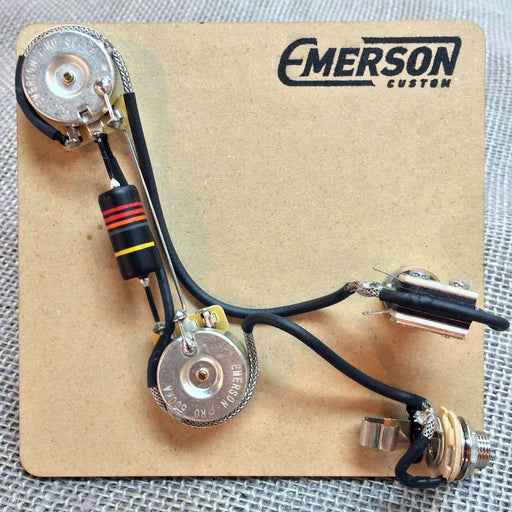 Emerson Custom Pre-Wired Kit For 2-Knob PRS Guitars