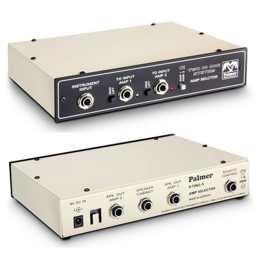 Palmer MI Tino Amp Switching System 2 Guitar Amplifiers to 1 Cab Remote Input