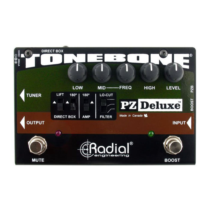 Radial Tonebone PZ Deluxe Acoustic Instrument Preamp