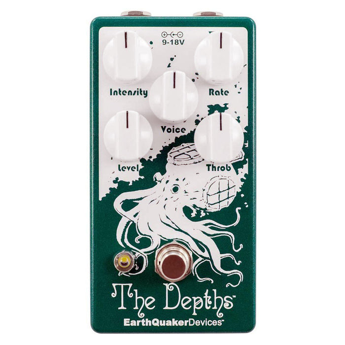 Earthquaker Devices The Depths™ Version 2 Analog Optical Vibe Machine