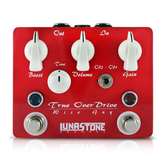Lunastone Wise Guy Classic Overdrive Pedal