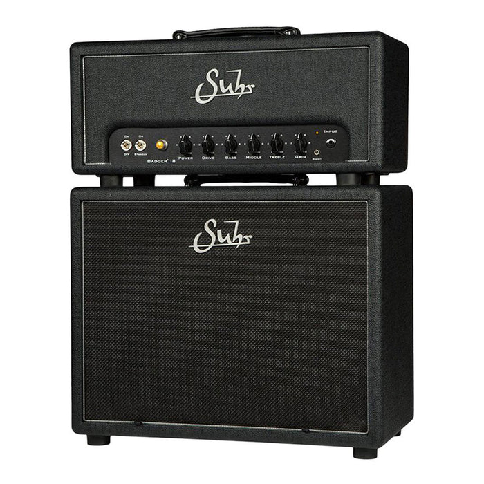 "Suhr Badger 18 Head 18-Watt EL-84 1x12"" Matching Cabinet"