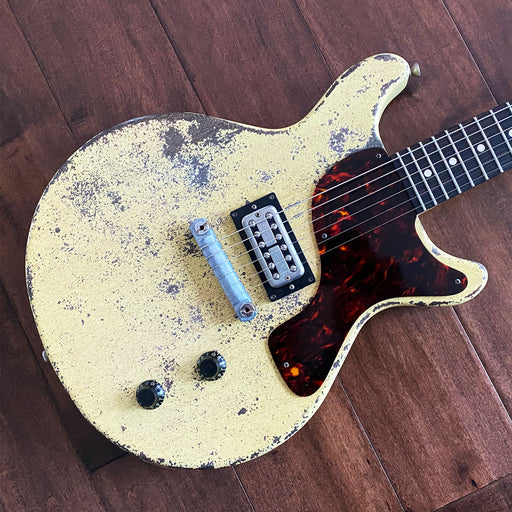 Rock N Roll Relics Thunders DC Electric Guitar Heavy Aged TV Yellow Filtertron