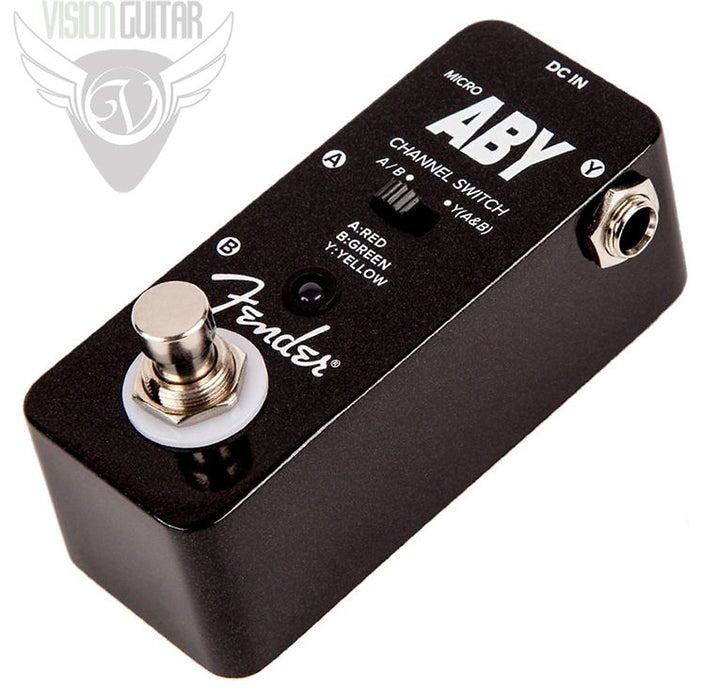 Fender Micro ABY Pedal - True Bypass Switching