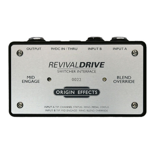Origin Effects Switcher Interface for Revival Drive