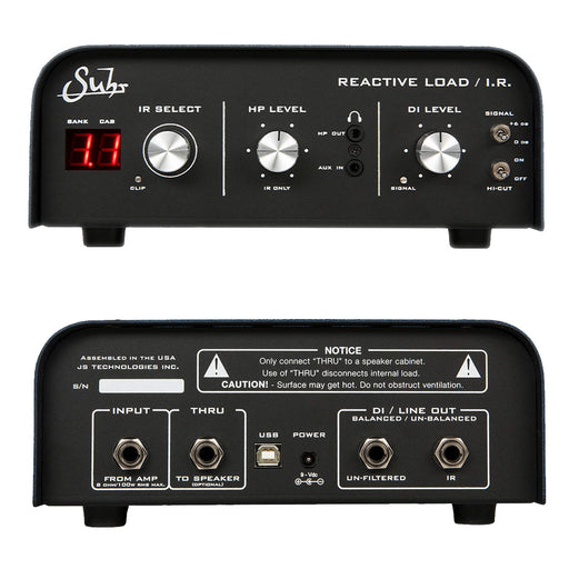 Suhr Reactive Load I.R. Impulse Response IR Loaded