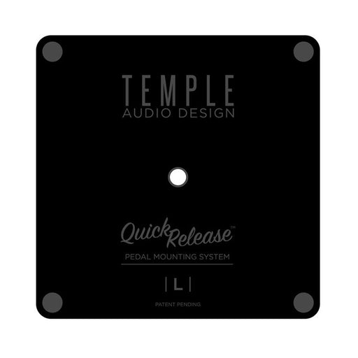 "Temple Audio Design Large Pedal Plate (3.12"" x 3.12"")"