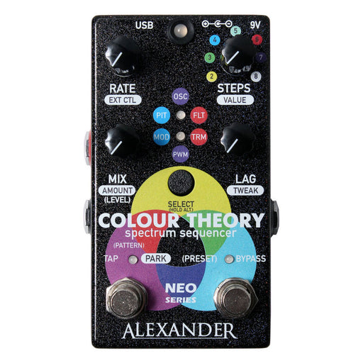 Alexander Pedals Color Theory Spectrum Sequencer