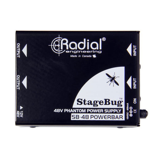 Radial StageBug™ SB-48 Power Bar 48v Phantom Power Supply