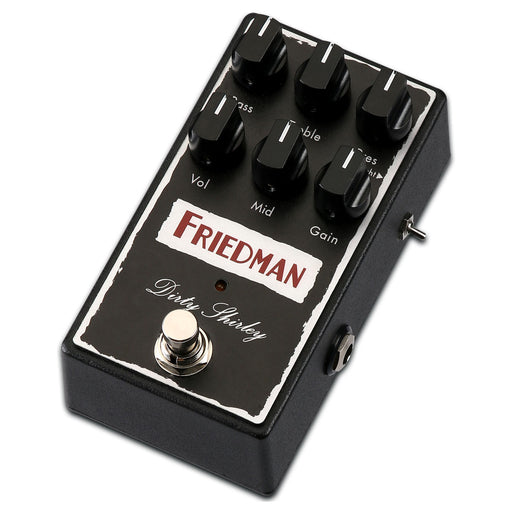 Friedman Amps DIRTY SHIRLEY Overdrive Pedal - Authentic British Overdrive Tones