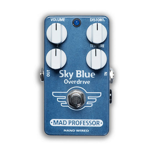Mad Professor BJF Design Hand-Wired Sky Blue Overdrive Pedal