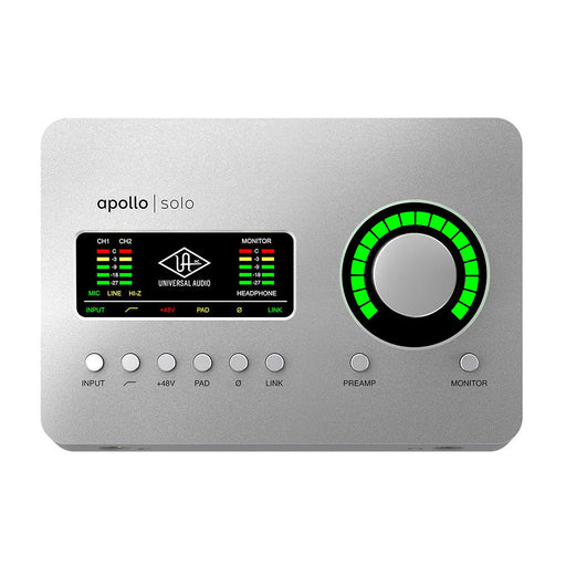 Universal Audio Apollo Solo USB Windows Audio Interface with UAD DSP
