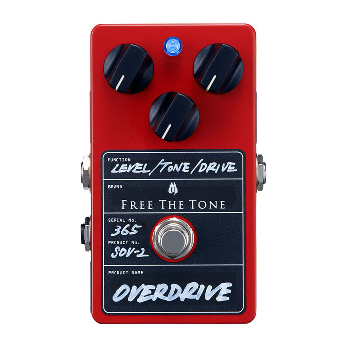 Free The Tone SOV-2 Harmonically Rich Overdrive