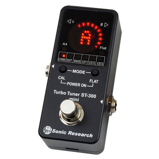 Sonic Research Model ST-300 Mini Stomp Box Strobe Turbo Tuner