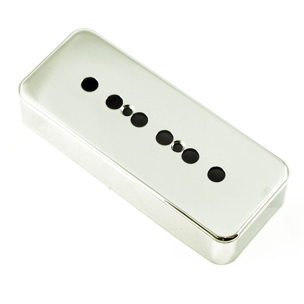 Chrome Standard P90 Soapbar Pickup Cover 50mm Pole Spacing P-90